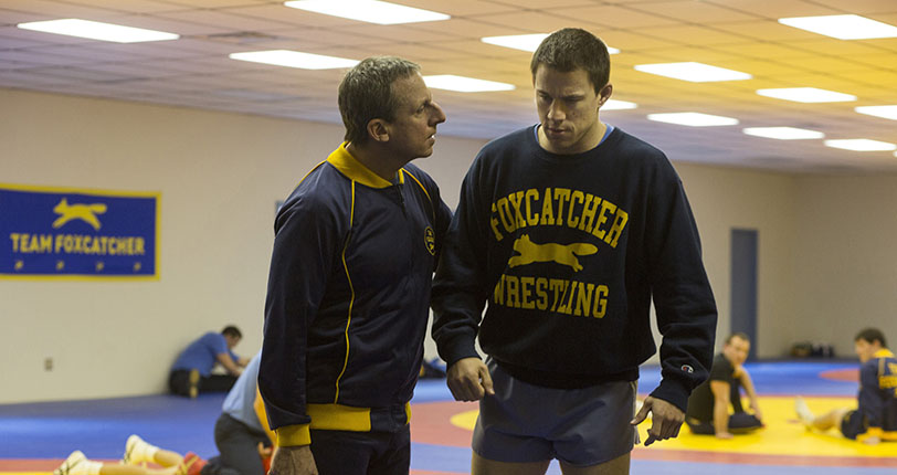 "Steve Carell and Channing Tatum star in ""Foxcatcher."" (Scott Garfield/MCT)"