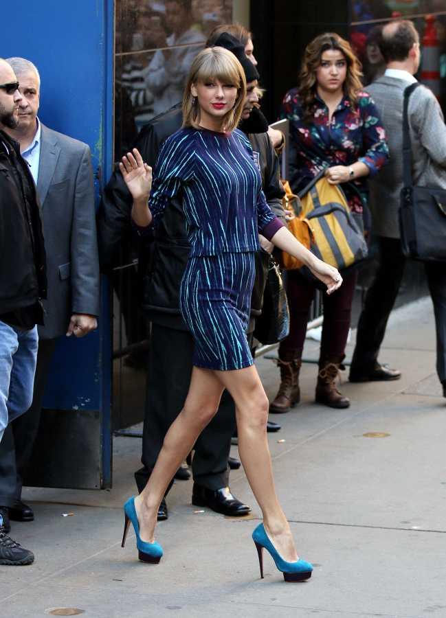 Taylor Swift at Good Morning America