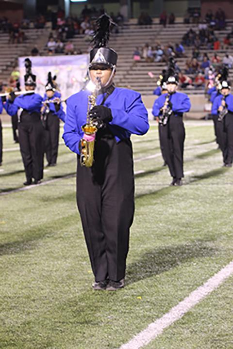 Band+receives+sweepstakes+at+UIL