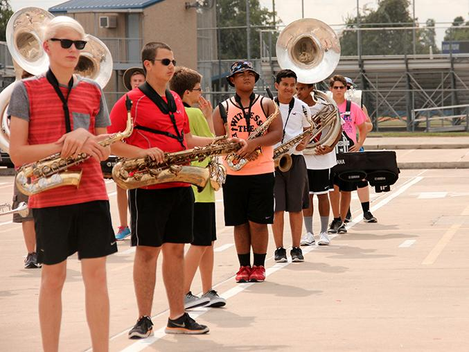 Freshman talk: Summer band