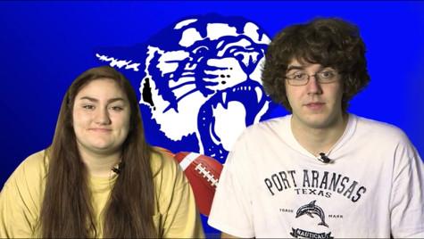 Seniors Chloe Trejo and Eric Estepp pictured.