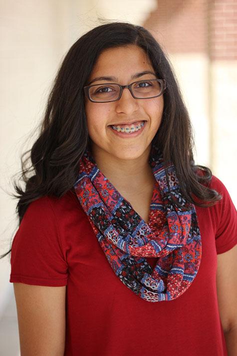 Senior Hala Khan pictured.