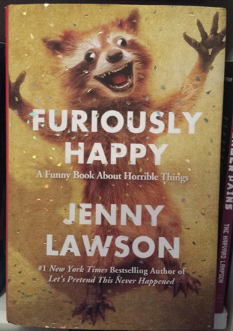 "Book den reviews: ""Furiously Happy"""