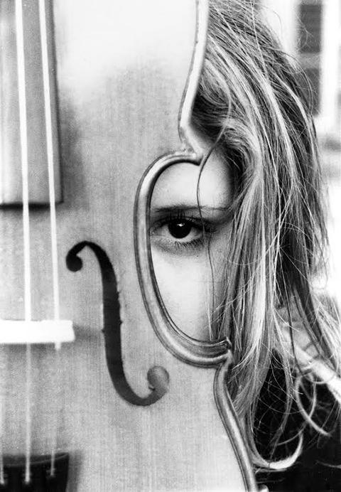 The Girl behind the Violin