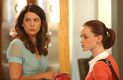 Lauren Graham and Alexis Bledel in