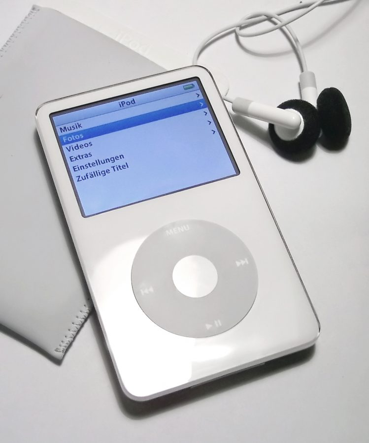 The Ipod we all grew up on