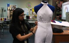 Spring fashion show highlights work by advanced fashion design students