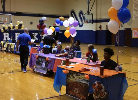 Student athletes sign at spring signing day
