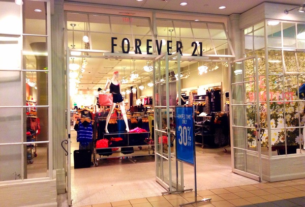 Forever 21 by JeepersMedia is licensed under CC BY 2.0
