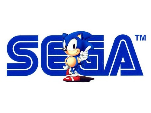 Sega Logo. Sonic by barité is licensed under CC BY-NC-ND 2.0