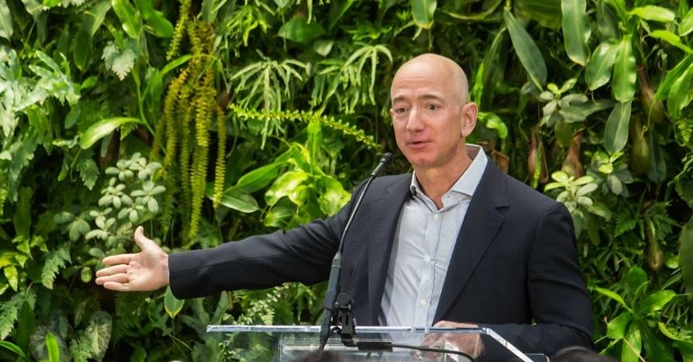 Jeff Bezos Donates $10 Billion to Fight Climate Change