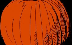VINTAGE PUMPKIN DRAWING COLORED #1 by metrostock99 is marked with CC PDM 1.0