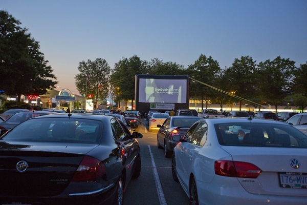 Drive-in Movie Series (The Fifth Element) @ Lansdowne Centre 2016 by GoToVan is licensed under CC BY 2.0