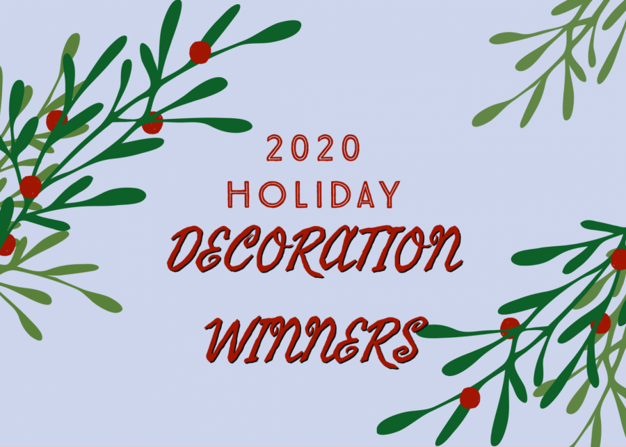 Holiday Decorating Contest- Winners
