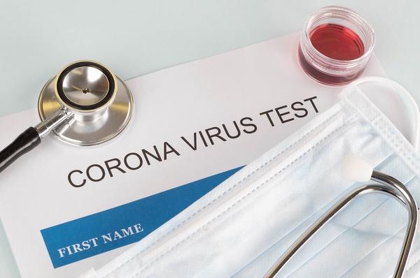 Coronavirus test concept by wuestenigel is licensed under CC BY 2.0
