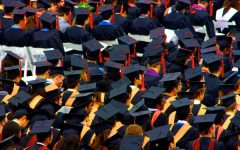 A floor of graduation caps by TracerBullet999 is licensed under CC BY-NC 2.0